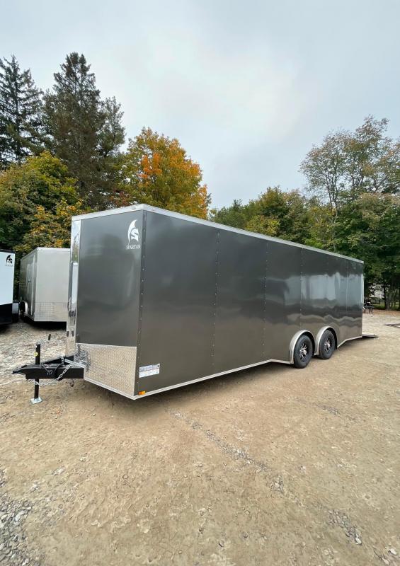 "2022 Spartan 8.5X24+2ft V trailer/12"" extra height/Torsion/9990gvwr"