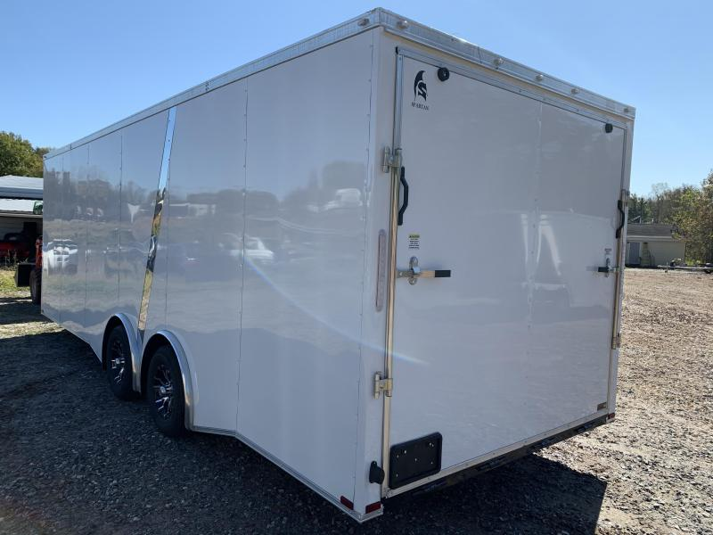 """2021 Spartan 8.5X24+2ft V trailer/12"""" extra height/torsion axles"""