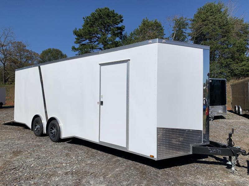"2021 Spartan 8.5X24+2ft V trailer/12"" extra height/torsion SALE"