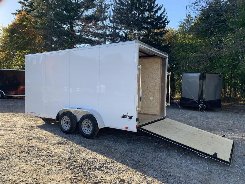 """2021 Pace American 7X16 +2ft v-nose/12"""" extra height/undercoated"""