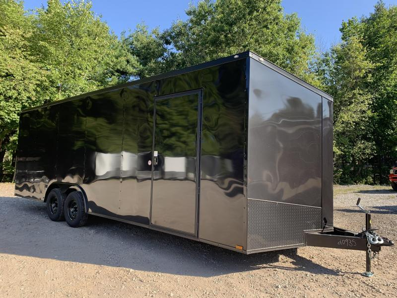 "2021 Spartan 8.5X24+2ft V trailer/12"" extra height/ Blackout"
