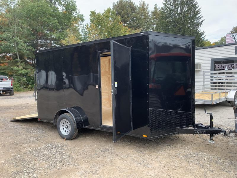 """2022 Spartan 7X12 +2ft Vnose/6"""" extra height/Blackout Package"""