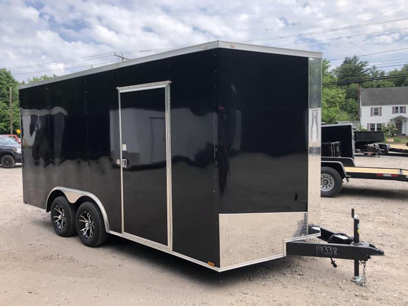 "2020 Spartan 8.5X16 +2ft V trailer/12"" extra height"