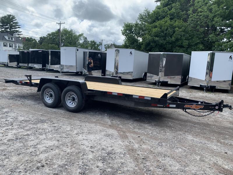 2020 D2E 7x20 Gravity tilt 14000 gvwr trailer/dexter axles
