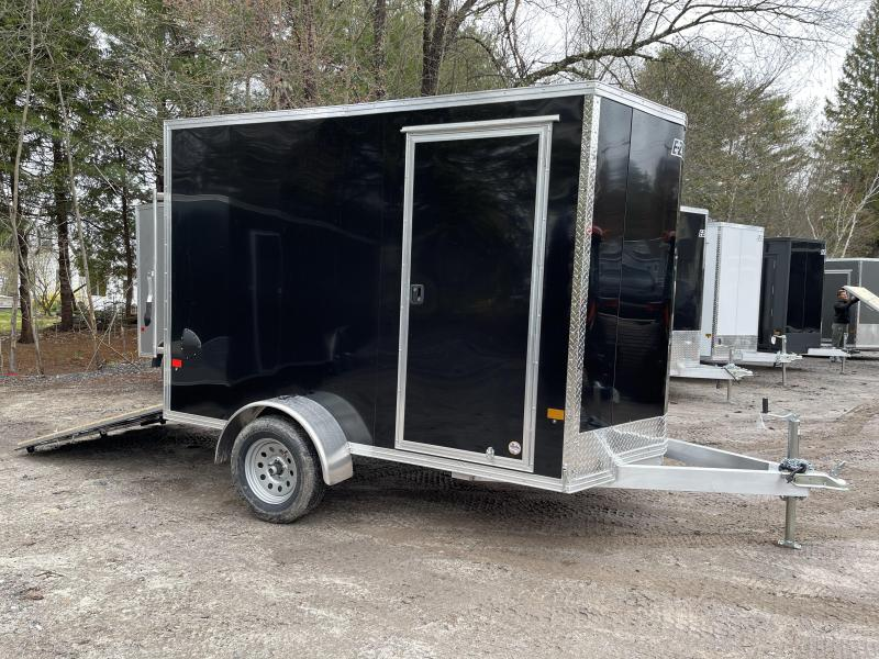 "2021 EZ Hauler 6X10 +12""V-Nose Aluminum trailer / 6"" extra height"