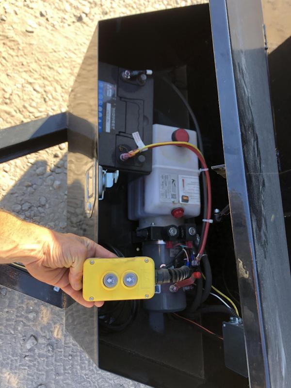 2021 FULLY LOADED 6x10 Hydraulic Dump Trailer 9800K gvwr