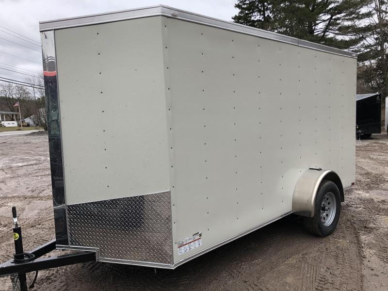 2021 Spartan 6x12 +2ft V-nose trailer/.040 paneling/undercoated