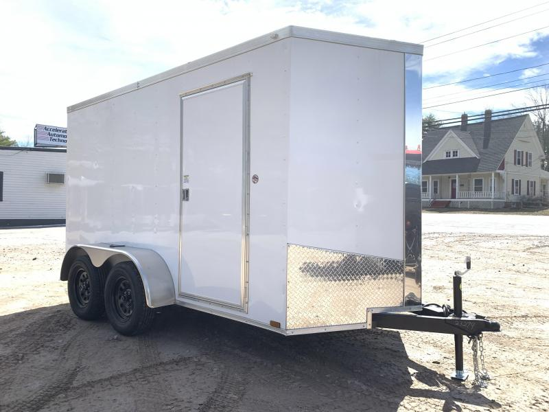 """2021 Spartan 6x12 +2ft V-nose trailer/6"""" extra height/undercoated/7000gvwr"""