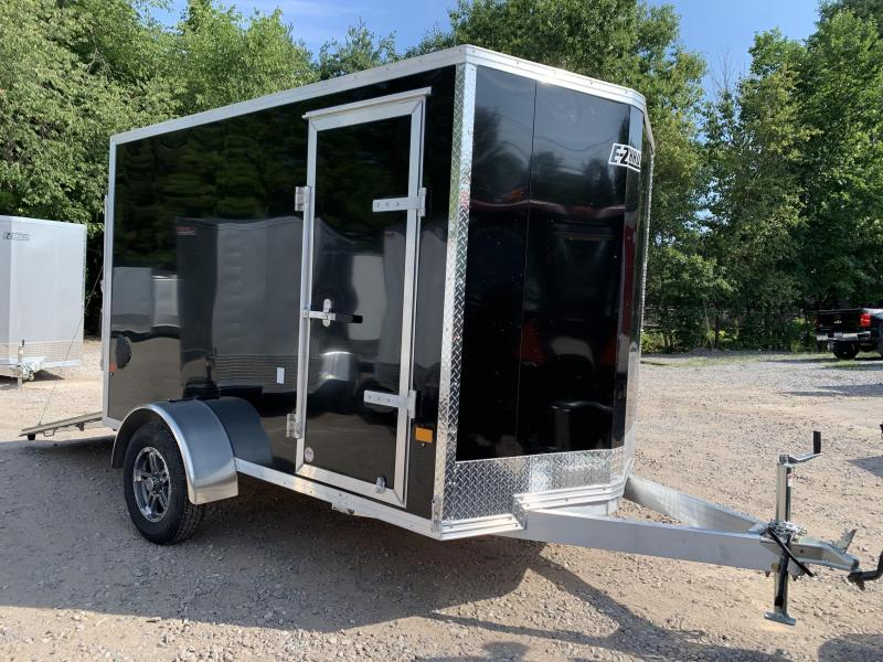 "2021 EZ Hauler 6X10 +2 ft V-Nose Aluminum trailer / 6"" Extra height"