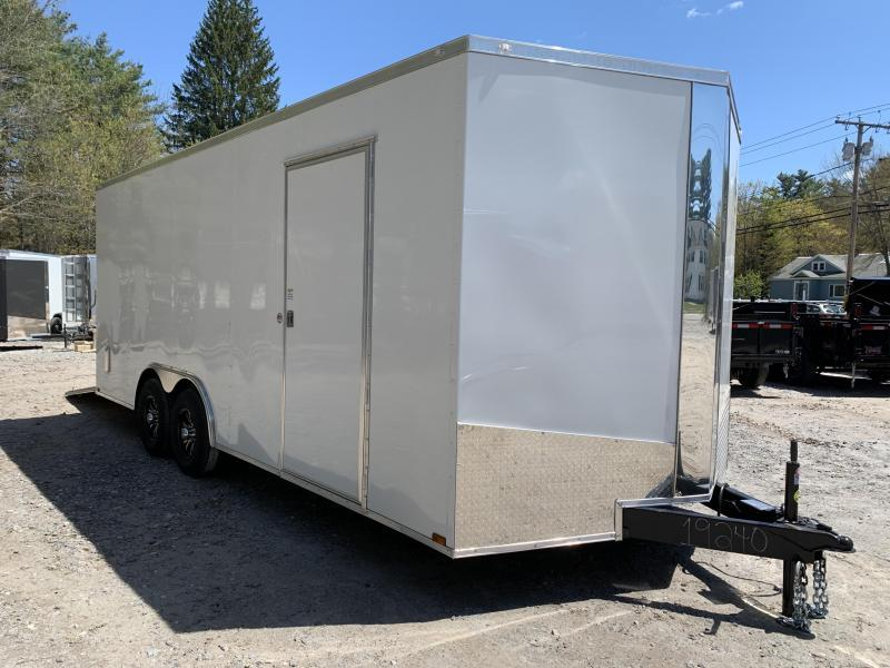 "2020 Spartan 8.5X20 +2ft V trailer/12"" extra height/7k gvw"