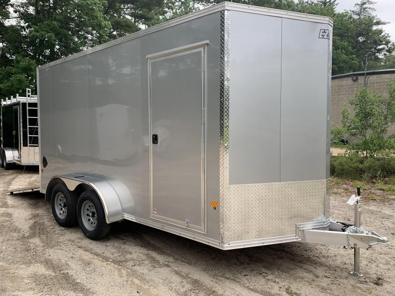 "2020 EZ Hauler 7X14 +2ft V-nose/Aluminum V-Nose / 12"" extra height"