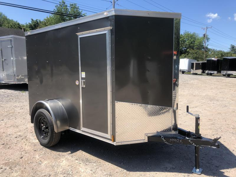 "2020 Spartan 5X8 +2ft V trailer/5'6"" interior height/undercoated"