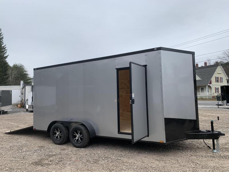"2021 Spartan 7x16 +2ft V-nose trailer/12"" extra height"