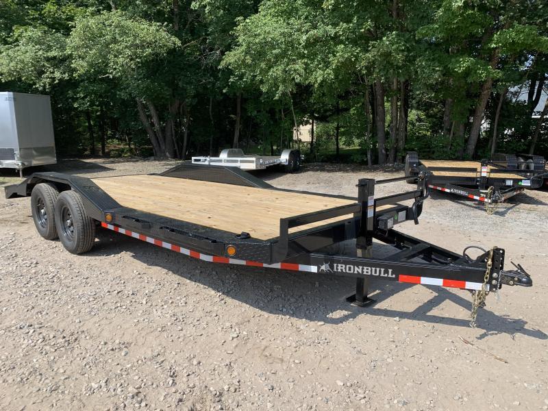 2022 Iron Bull 7x20 Equipment trailer 14,000gvw /Drive-over ramps