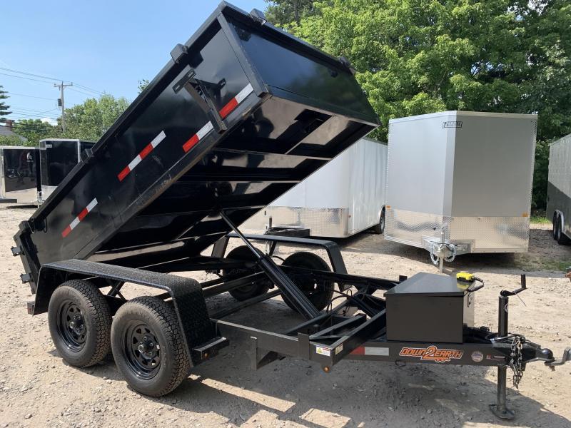 Welders Special/2020 Down 2 Earth 6x10 Hydraulic Dump Trailer/ 7000 gvwr
