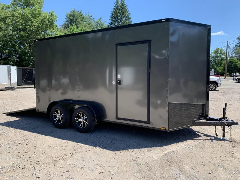 "2020 Spartan 7X14 +2ft V trailer Blackout/12"" extra height"