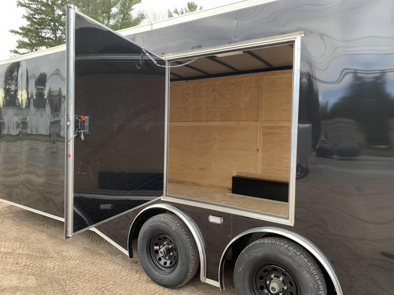 "*DENT SALE*2021 Spartan 8.5X26+2ft V trailer/torsion/12""extra height/undercoated/9990gvwr"