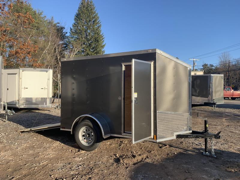 """2021 Spartan 5X8 +2ft V trailer/undercoated/6"""" extra height"""
