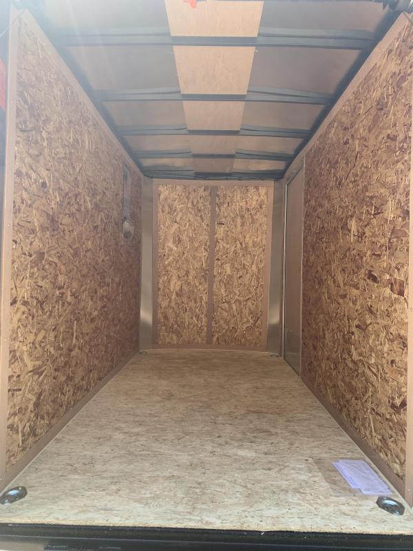 2021 Pace American 5x10 Trailer /ramp/6' interior