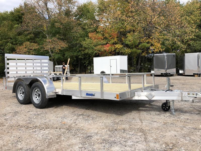 2021 Mission 7X16 Aluminum Utility Trailer/6000gvwr
