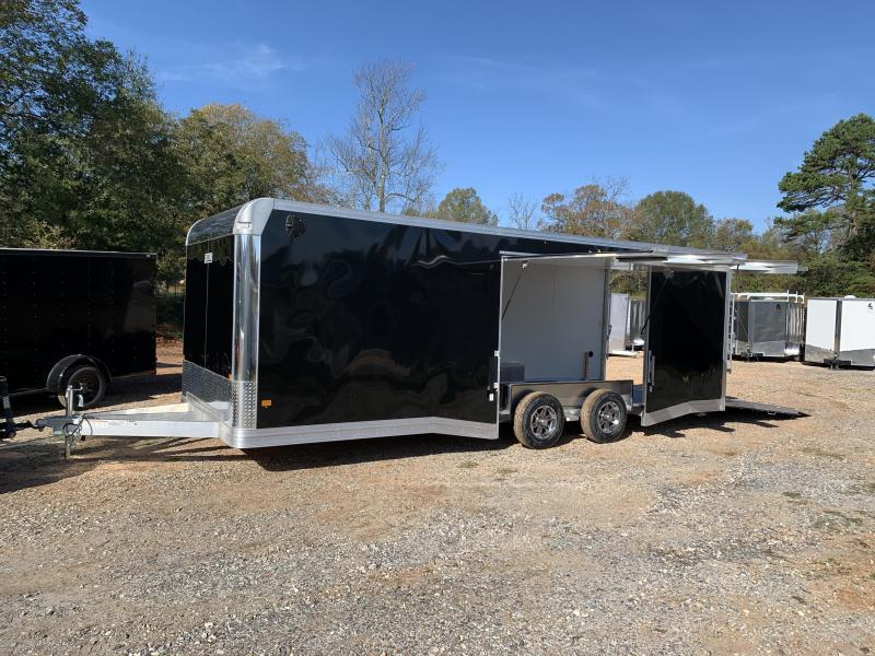 "2021 EZ Hauler 8.5x24 Aluminum Car Hauler/9990 gvwr/12"" extra height (financing avail.)"