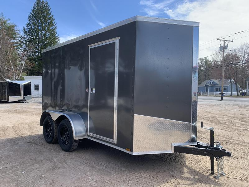 "*DING SALE* 2021 Spartan 6x12 +2ft V-nose trailer/6"" extra height/undercoated/7000gvwr"