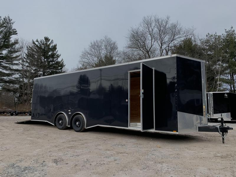 """2021 Spartan 8.5X26+2ft V trailer/torsion/12""""extra height/undercoated/9990gvwr"""