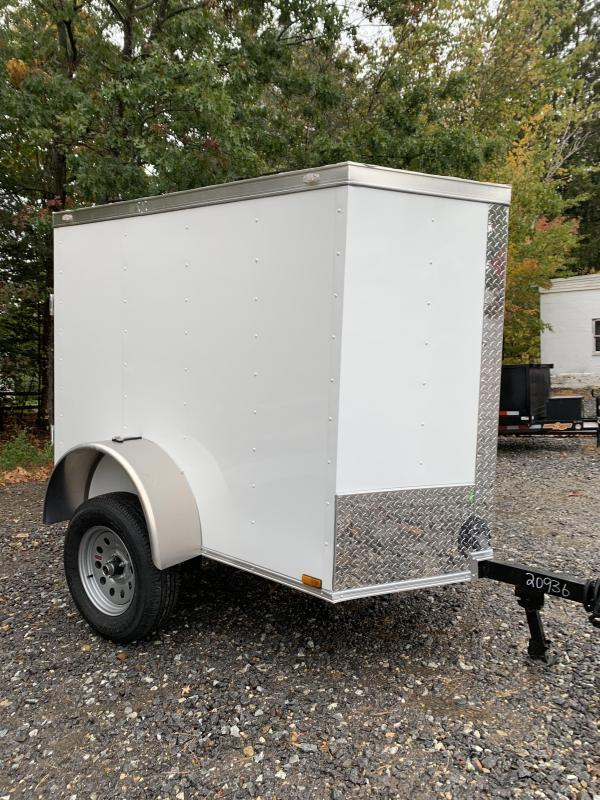 *DENT SALE* 2021 Spartan 4X6 +2ft V trailer/undercoated