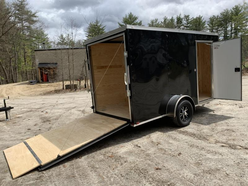"2021 Spartan 6x12 +2ft V-nose trailer/6"" extra height/undercoated/2990gvwr"