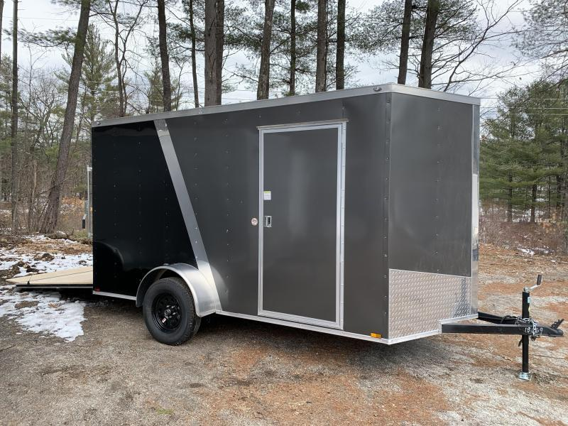 "2020 Spartan 6x12 +2ft V Two Tone/6"" extra height"