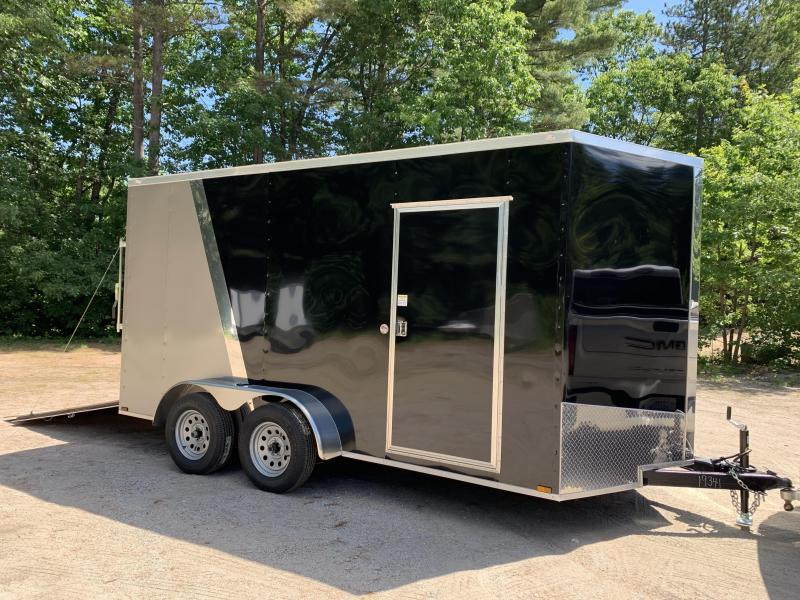 "2020 Spartan 7X14 +2ft V trailer two-tone/12"" extra height"