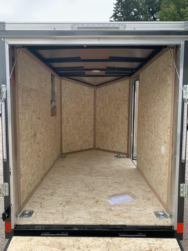 """2021 Pace American 5x8 Outback DLX+2' v-nose/ /undercoated/6"""" extra height"""