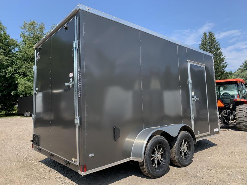 "2021 ANVIL 7x14 +2ft V-nose/12"" extra height/alum wheels"