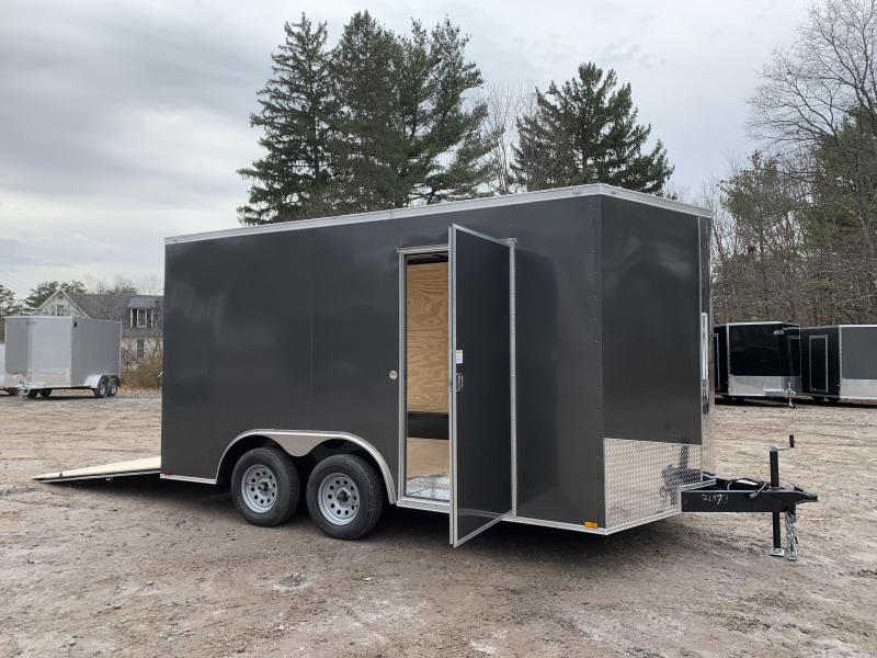 "2021 Spartan 8.5X14 +2ft V trailer/12"" extra height/undercoated"