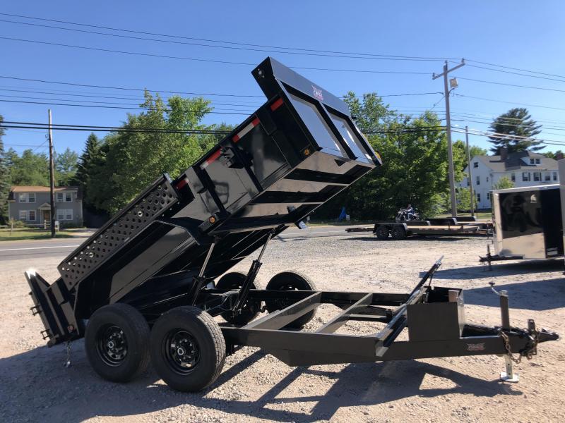 2021 FULLY LOADED 7x12 Hydraulic Dump Trailer 12000K gvwr