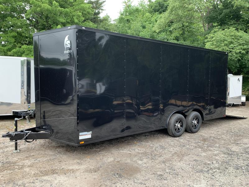 "2020 Spartan 8.5X20 +2ft V trailer/18"" extra height/9990gvwr"