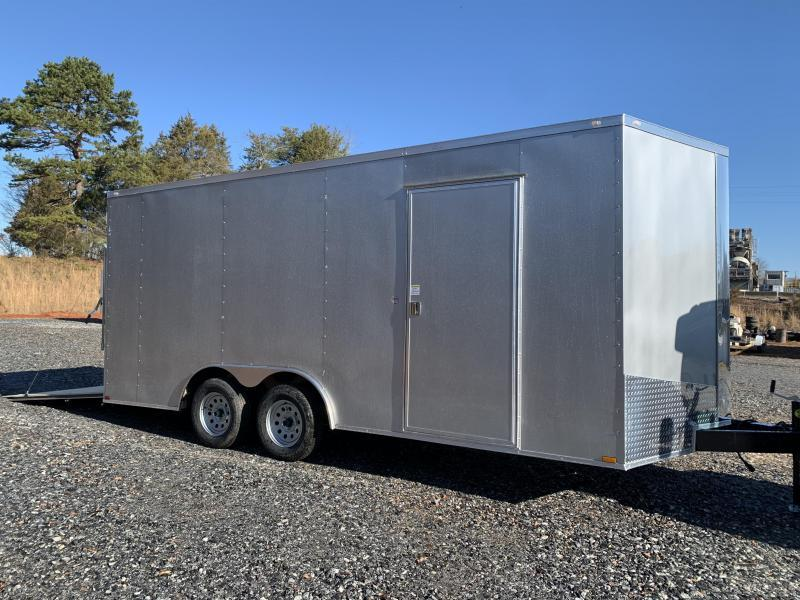 "2021 Spartan 8.5X18+2ft V trailer/12"" extra height-financing"