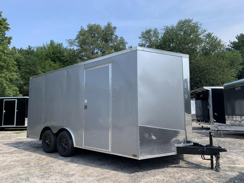 """2021 Spartan 8.5X16 +2ft V trailer/6"""" extra height/undercoated"""
