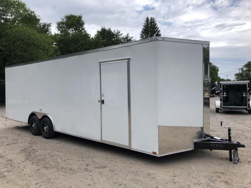 "2020 Spartan 8.5X26 +2ft V trailer/12"" extra height 9990 gvwr"