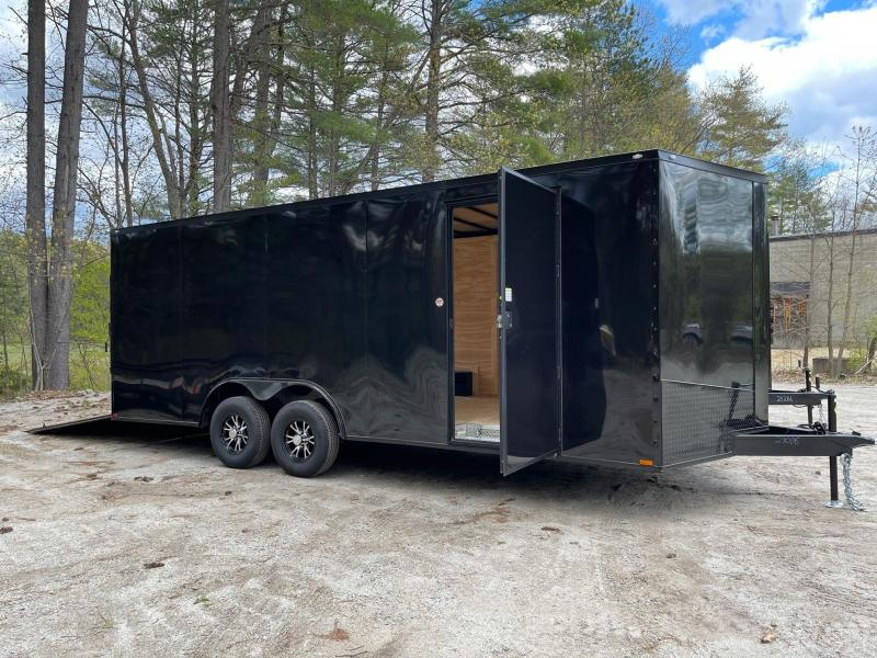 "2021 Spartan 8.5X20+2ft V trailer/6"" extra height/10000gvwr/undercoated/.030"