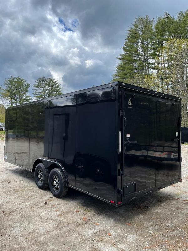 """2021 Spartan 8.5X20+2ft V trailer/6"""" extra height/10000gvwr/undercoated/.030"""