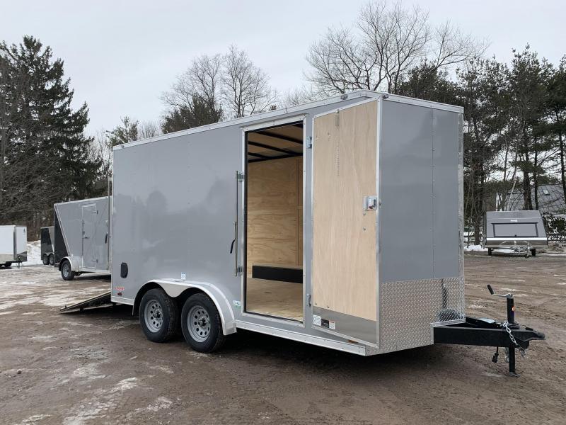 2021 Cargo Mate 7.5X14 +2ft V-nose 7' interior/Utv Package/Stabilizer jacks