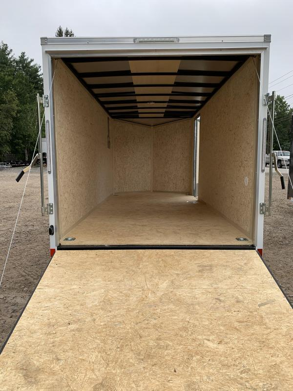 2022 PACE American 7X16 +2ft V-nose/ 7' interior/undercoated