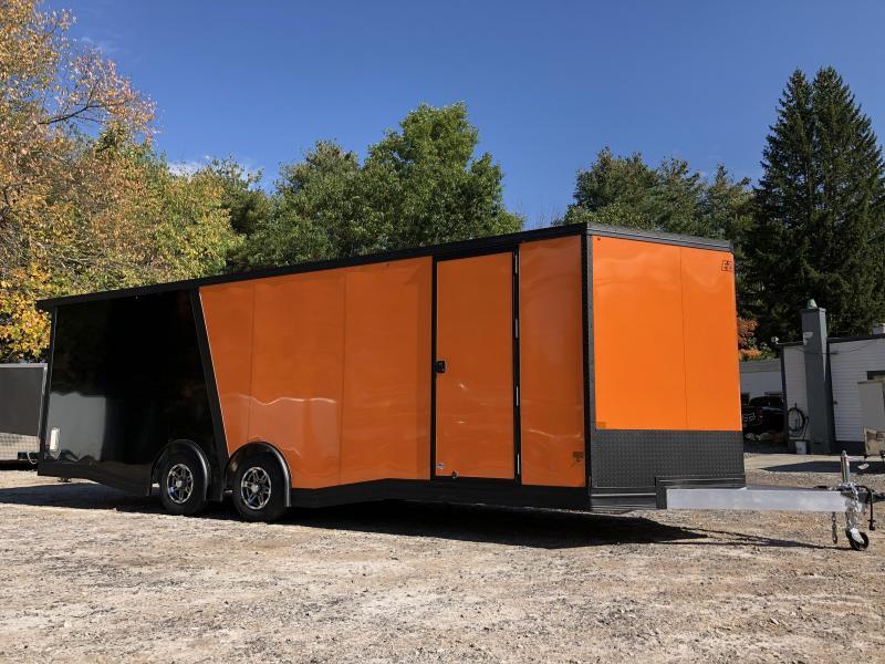 """2021 EZ Hauler 8.5x24/Aluminum Car Hauler/9990gvwr/12"""" extra height"""