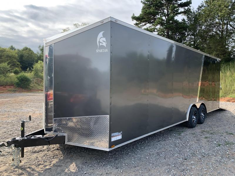 "2021 Spartan 8.5X24+2ft V trailer/12"" extra height"