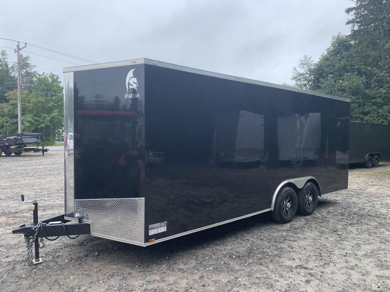 "2022 Spartan 8.5X20+2ft V trailer/12"" extra height/9900gvwr"