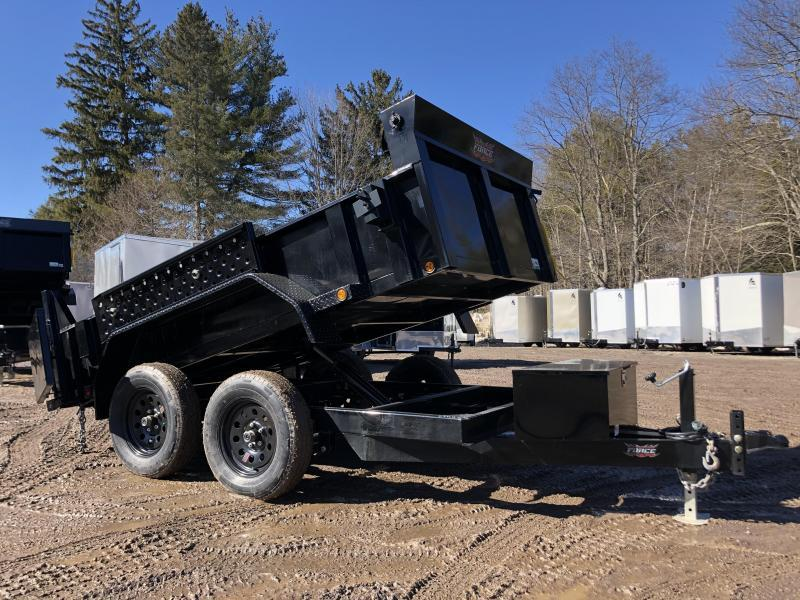 2021 FULLY LOADED 5x10 Hydraulic Dump Trailer 7000K gvwr