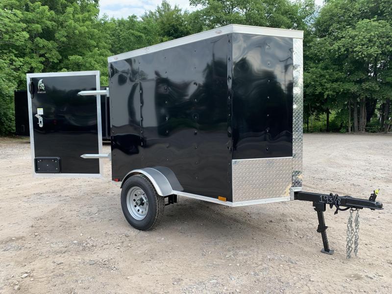 2020 Spartan 4X6 +2ft V trailer barn door/undercoated