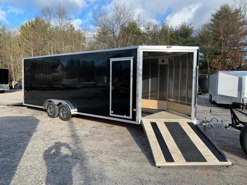 2021 EZ Hauler 7.5X22+5ft V Nose / 7000gvwr / 7' interior / track mats