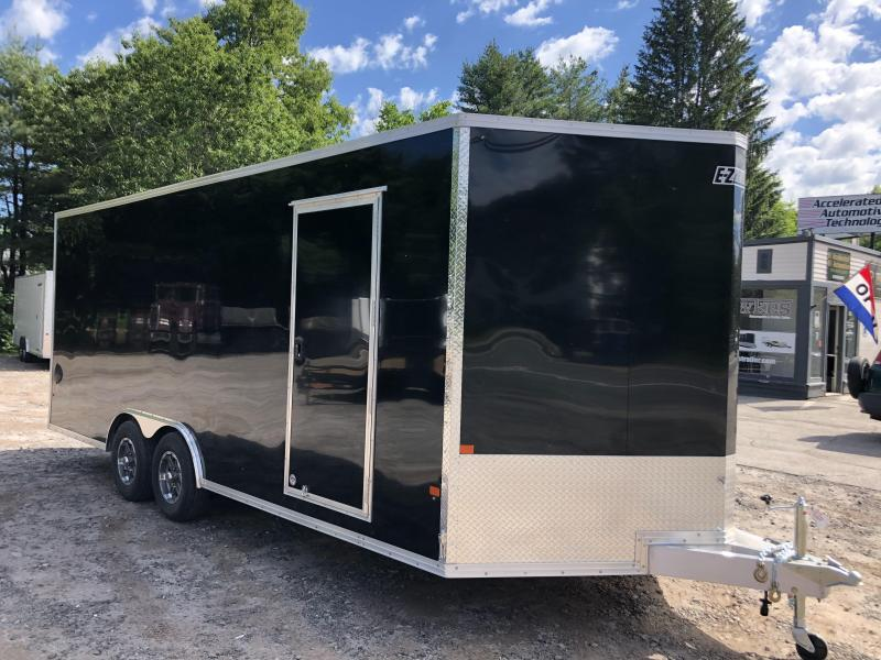 "2020 EZ Hauler 8.5x20 +2ft V/Aluminum Car Hauler/9990gvwr/12"" extra height"